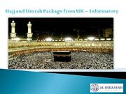 Hajj and Umrah Package from UK – Informatory