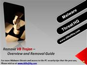 Remove VB Trojan - VB Trojan Overview