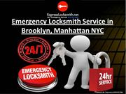 Emergency Locksmith Service in Brooklyn, Manhattan NYC