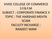 THE HARSHAD MEHTA SCAM.CFII