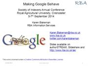 Making Google Behave