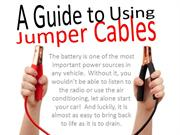A Guide to Using Jumper Cables