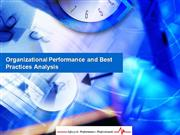 Organizational Performance Analysis