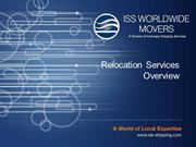 International Moving,Worldwide Moving
