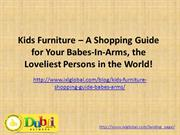 Kids Furniture – A Shopping Guide for Your