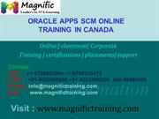ORACLE APPS SCM Online Training in uk,usa,canada