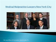 Medical Malpractice Lawyers New York City