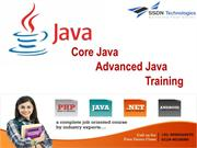 Core Advance Java Training