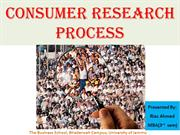 Consumer Research Process MBA By_Riaz