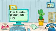 Five Essential Productivity Tips