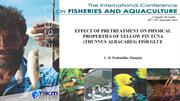 EFFECT OF PRETREATMENT ON PHYSICAL PROPERTIES OF YELLOW FIN...