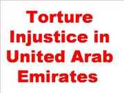 Torture in UAE - United arab Emirates