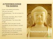 A Poor Man Asked the Buddha