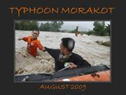 Typhoon Morakot - August 2009
