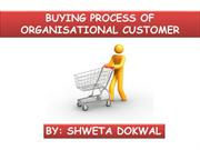 buying process of organization