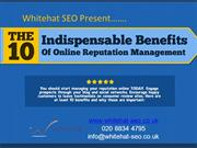 Improve your online reputation with the help of WhiteHat-Seo.co.uk ORM