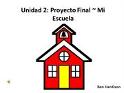 Spanish Unit 2 Final Project with narration