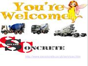 SS Concrete Mix concrete Services