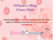 Baby Couture India  Baby Girl Clothes Online  Clothes for Kids Girls O
