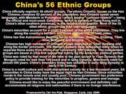 China's 56 Ethnic Groups