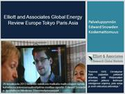 Elliott and Associates Global Energy Review Europe Tokyo Paris Asia -