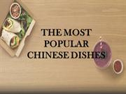 The Most Popular Chinese Dishes