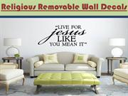 Religious Removable Wall Decals