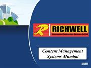 Content Management Systems Mumbai - Richwell IT