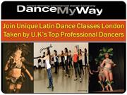 Latin Dance Classes London Taken by U.K's Top Professional Dancers