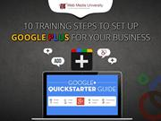 10 Training Steps To Set Up Google Plus For Your Business
