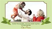 Family Photography – Get your family together in a photograph