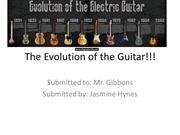 The Evolution of the Guitar!!!