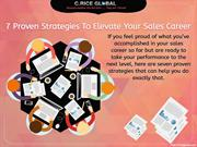 7 Proven Strategies to Elevate Your Sales Career