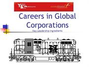 Careers in Global Corporations