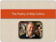 The Poetry of Billy Collins