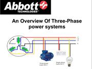 An Overview Of Three-Phase power systems