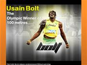 Bolt breaks The 100 Meter Olympic Record