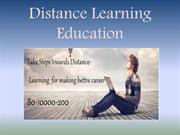 Distance Learning Education sep 25