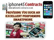 iPhone 4S Deals: Best Deal With Online Connection!