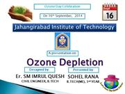 OZONE DEPLETION BY IMRUL