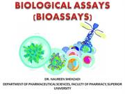 biological assays, antibiotic assay