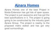 your dream home at Ajnara Homes