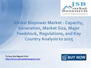 JSB Market Research: Global Biopower Market