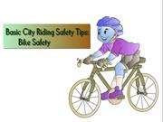 Basic City Riding Safety Tips - Bike Safety