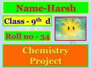 harsh chemistry ppt