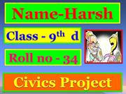 HARSH civics ppt election system