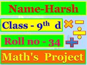 Harsh math ppt Number system