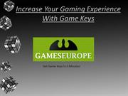 Buy CD keys for games