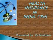 COMMUNITY BASED HEALTH INSURANCE