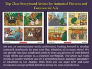 Storyboard Artists for Animated Pictures